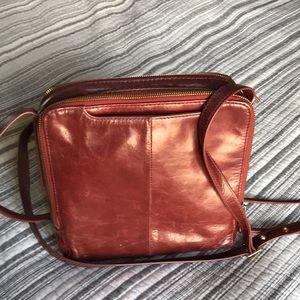 Hobo purse. Cute square design. Crossbody